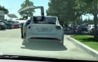 Watch The Tesla Model X SUV's 'Falcon' Doors In Action: Video