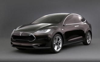 2015 Tesla Model X: Electric Crossover Will Be All-Wheel-Drive Only