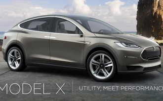 Elon Musk: Tesla Model X Crossover Coming In 3-4 Months