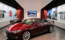 Tesla Motors gallery in Houston Galleria, opened October 2011, with Model S on display