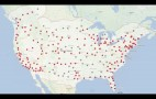 Tesla Maps Out Supercharger Network, Speeds Up Charging