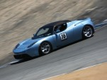 Tesla Roadster #16 on track at ReFuel EV races