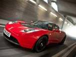 Tesla Roadster right-hand drive