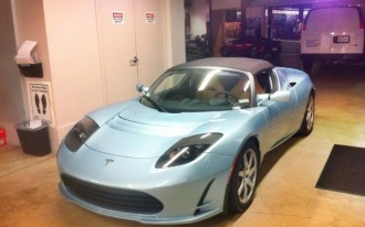Tesla Joins The Club, Gets Socially Smart And Gives Tony Hawk A Roadster Sport 2.5
