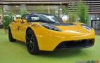 Tesla Roadster Channels Taxi Cab In France