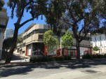 Tesla store under construction, Van Ness Ave, San Francisco [photo: BlueStarE3 on Tesla Motors Club]