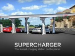 Tesla Supercharger fast-charging system for electric cars