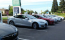 Tesla Supercharger site in Vacaville, California, before expansion    [photo: George Parrott]