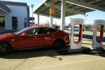 UPDATE: Tesla's First Solar-Powered Supercharger-Store-Service Center Now Open