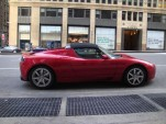 '08/'09 Tesla Roadster Driven By AllCarsElectric In NYC