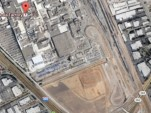 Tesla's Fremont factory and surrounding land. Image via Google Maps.
