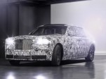Test mule for new Rolls-Royce aluminum spaceframe architecture