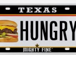 Texas already allows advertising on license plates. Image: MyPlates.com