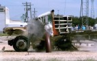 Texas A&M Barrier Decapitates Trucks In Slow Motion: Video