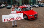 Audi Celebrates Building 10 Million A4 And 80 Mid-Size Cars