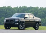 The 2012 Honda Ridgeline Sport. Image: American Honda Motor Co. 