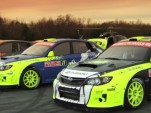 The 2012 Subaru PUMA Rallycross team