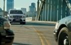 2013 Mercedes-Benz GL Class Chases Crook, Outruns Cargo Van