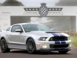 The 2013 Shelby GT500 at the Goodwood Festival of Speed