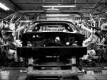 The 2014 Chevrolet Corvette's assembly line