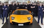 Lamborghini Builds 4,000th Murcielago
