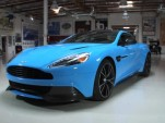 The Aston Martin Vanquish visits Jay Leno's Garage