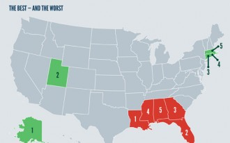 The Best States For Driving--And The Worst: Infographic