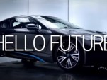 The BMW i8 says 'Hello Future'