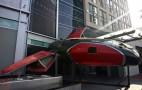 Bugatti Spaceship Crash Lands For Comic-Con
