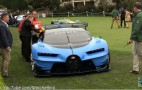 The Bugatti Vision GT concept ran out of fuel at Pebble Beach