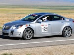 The Buick Regal GS, competing in the Silver State Classic