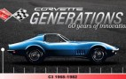 Corvette Generations Shows Us The C3 And C4: Video