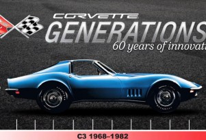 The C3 Corvette, sold from 1968 - 1982
