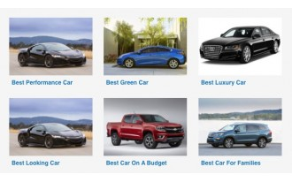 The Car Connection's Driver's Choice 2016 Awards