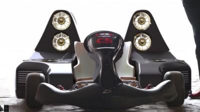 The Daymak C5 Blast all-electric go-kart