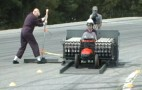 Progress Being Made On Coke Zero And Mentos Powered Cars: Video