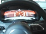 Audi R8 E-Tron's All-Digital Cluster And Console: Looks Like Tesla To Us...
