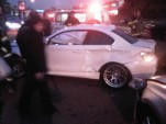 The fourth crashed BMW 1-Series M Coupe. Image via 1Addicts.