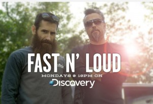 The Gas Monkey Garage crew on Discovery's Fast N' Loud