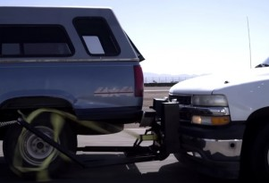 The Grappler Police Bumper in action