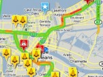 The INRIX TRAFFIC! app