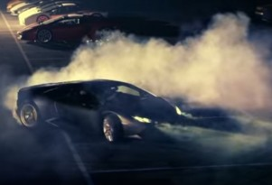 The Lamborghini Huracan LP 610-4 in its first official video