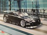 The Lexus LFA racer tweeted by Akira Iida