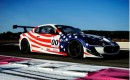 The Maserati GranTurismo MC Trofeo to be campaigned by Patrick Dempsey and Greg Tracy