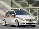 The Mercedes-Benz B-Class E-Cell Plus concept. Image: Mercedes-Benz