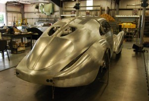 The Mullin Museum's coupe body for Bugatti chassis 64002 - image: The Mullin Museum