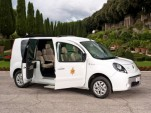 Renault Blesses Pope Benedict With A Free Electric Car