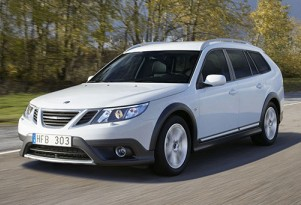 The recently-unveiled Saab 9-3X