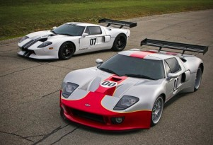The RH Motorsports / The GT Guy GT1 (foreground) and GT3 (background) models - image: RH Motorsports
