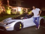 Dwayne 'The Rock' Johnson and the Ferrari LaFerrari